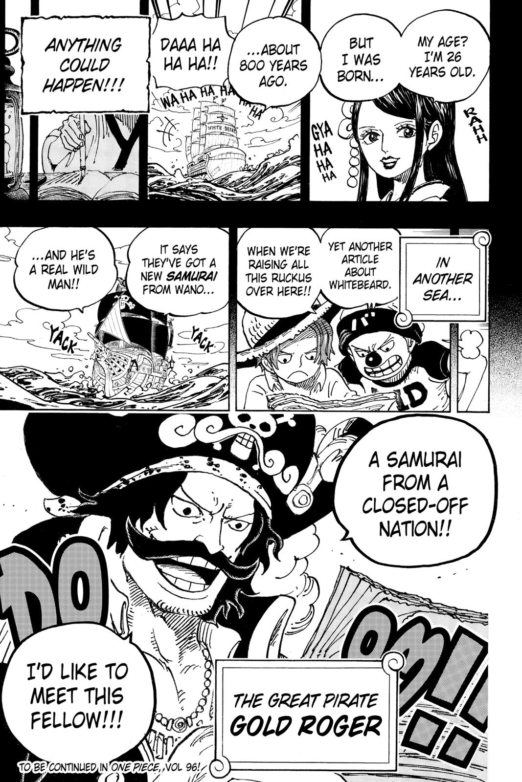 One Piece Chapter 964 Page 17