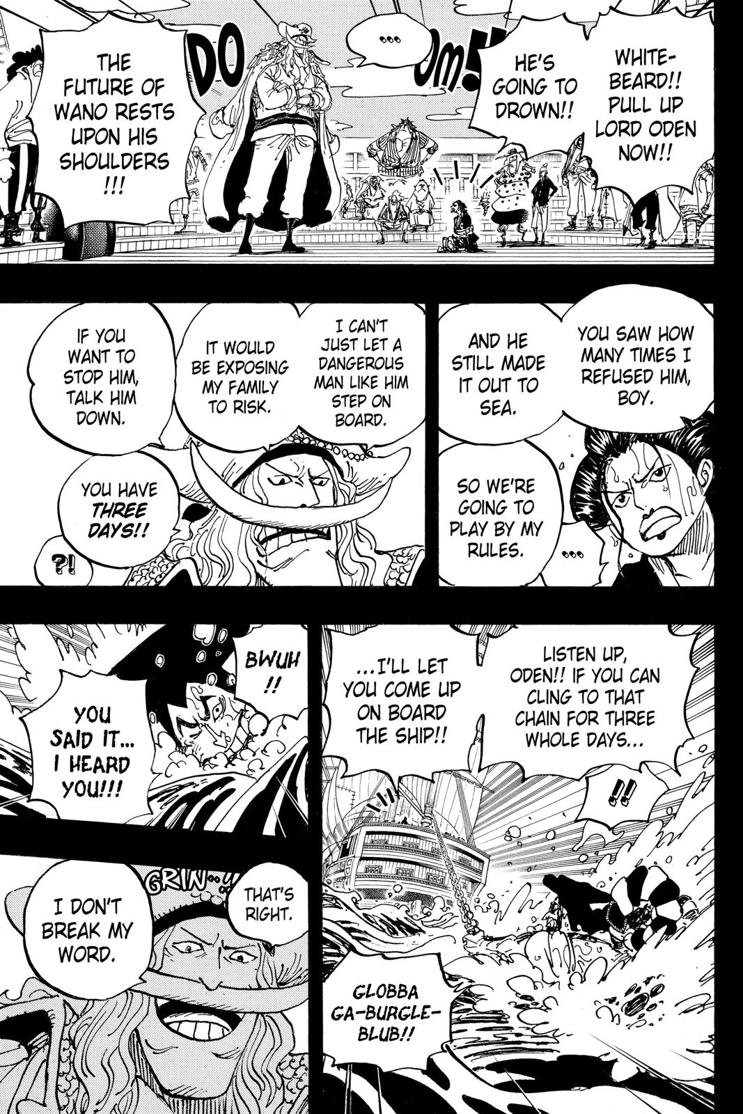 One Piece Chapter 964 Page 7