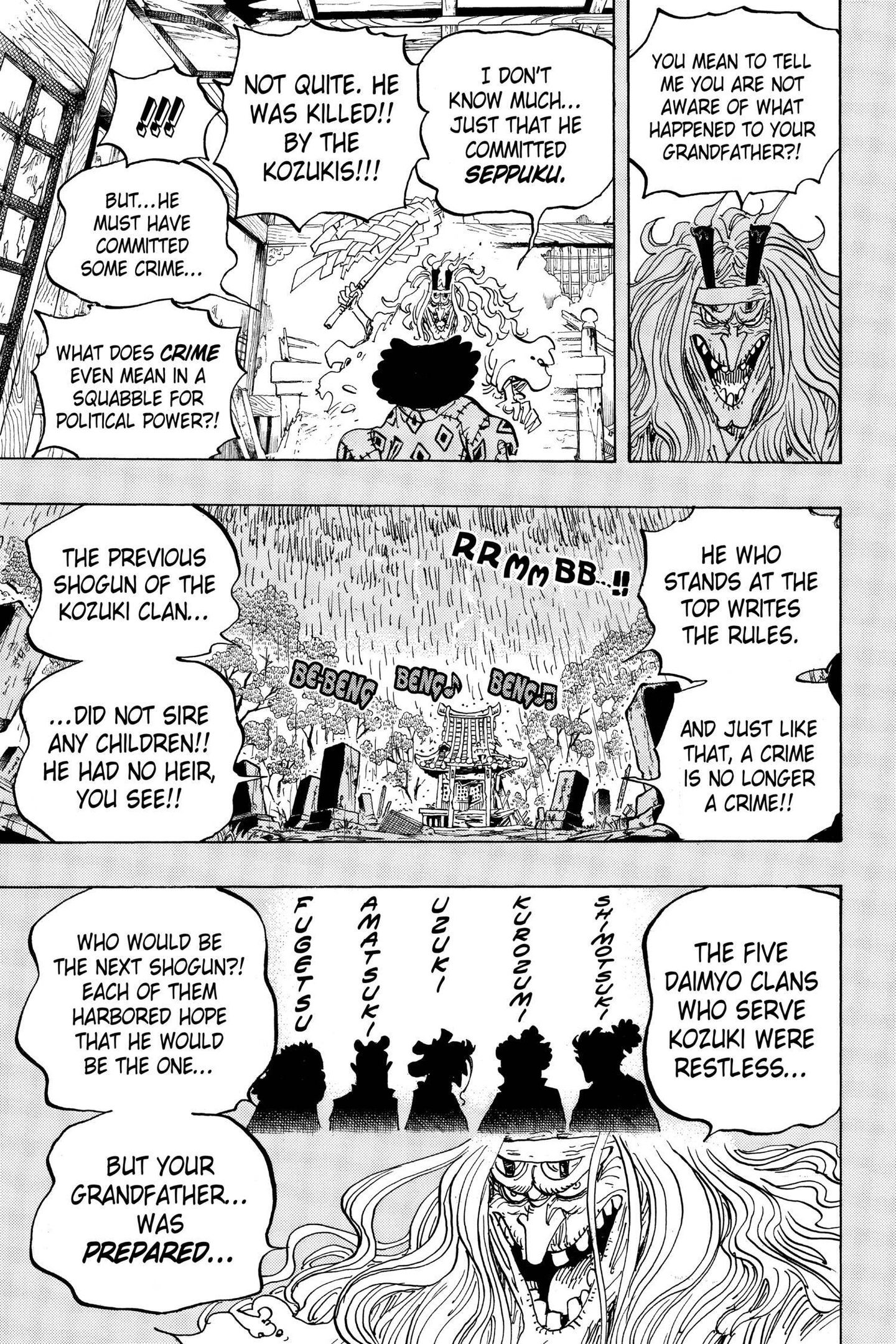 One Piece Chapter 965 Page 14