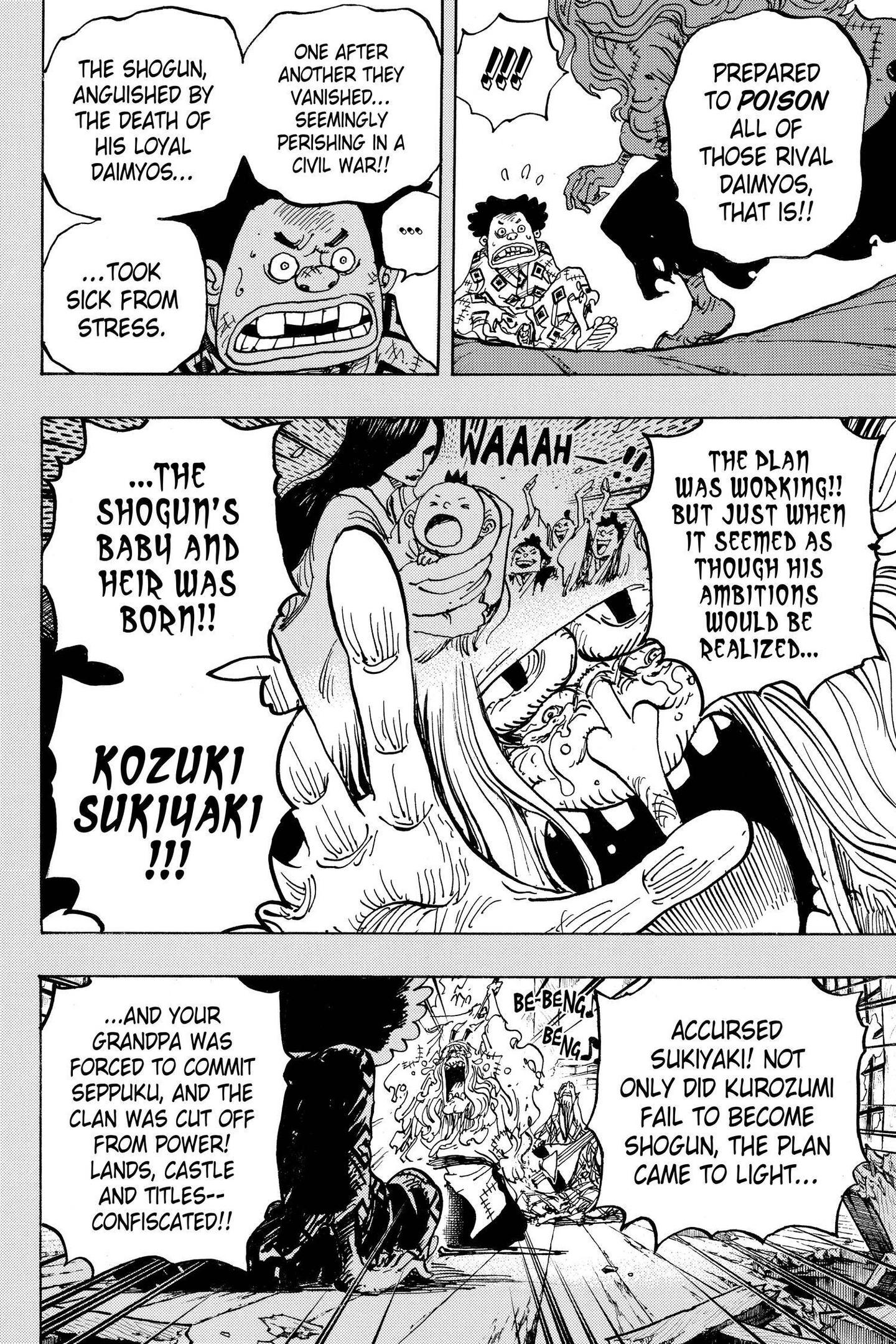 One Piece Chapter 965 Page 15