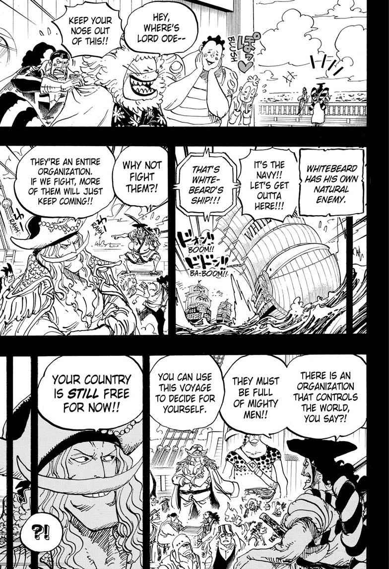 One Piece Chapter 965 Page 3