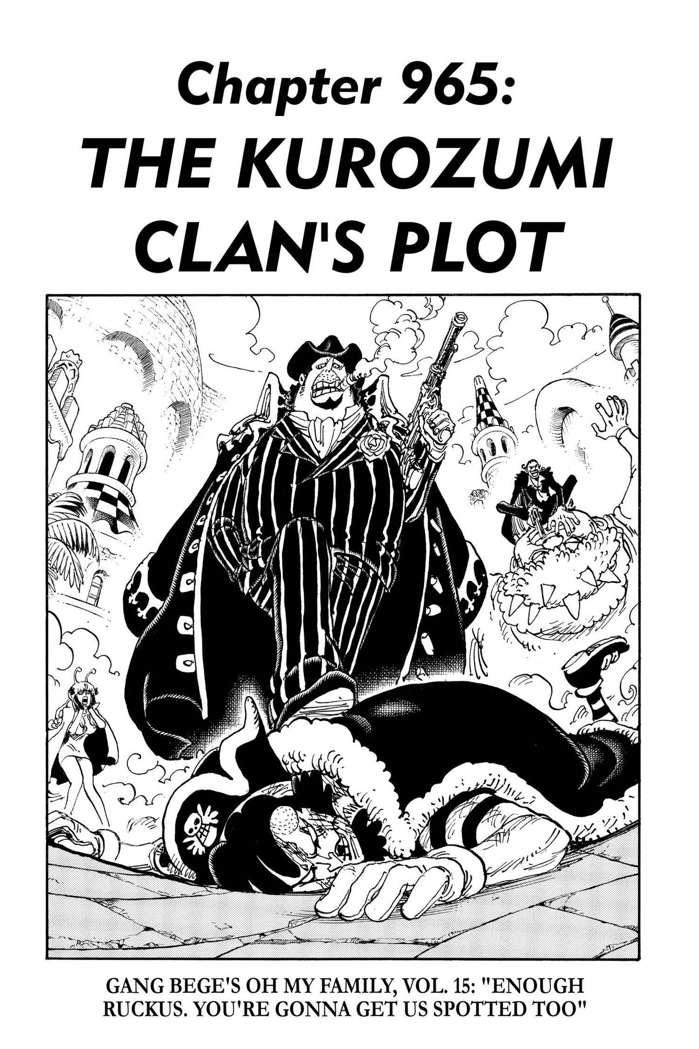 One Piece Chapter 965 Page 6