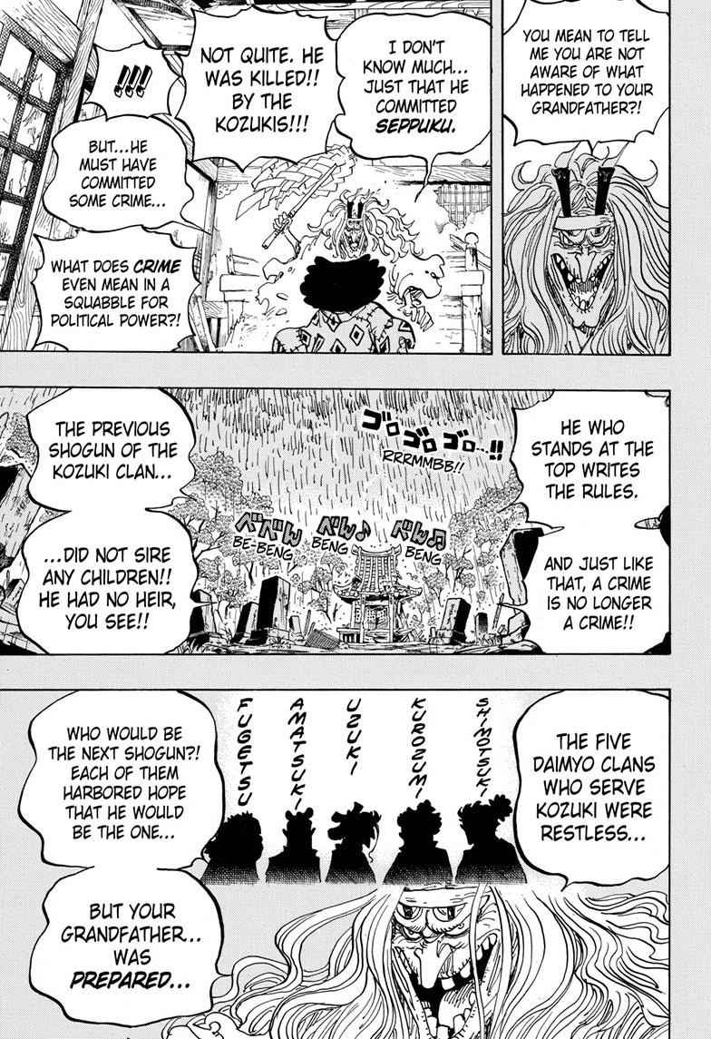 One Piece Chapter 965 Page 9