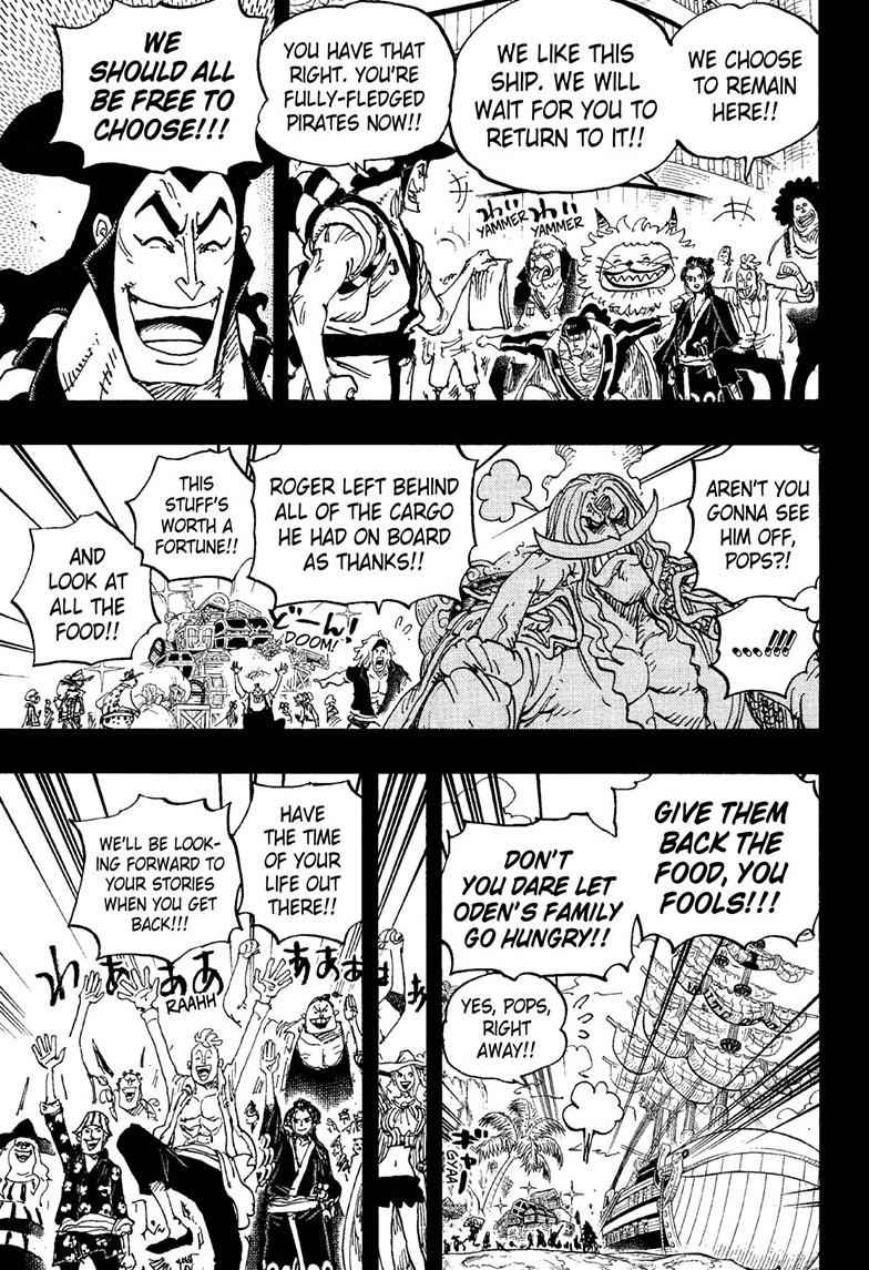 One Piece Chapter 966 Page 12