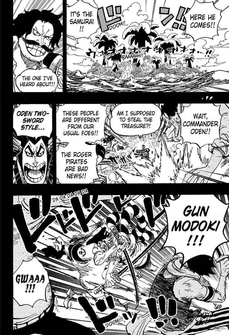 One Piece Chapter 966 Page 2