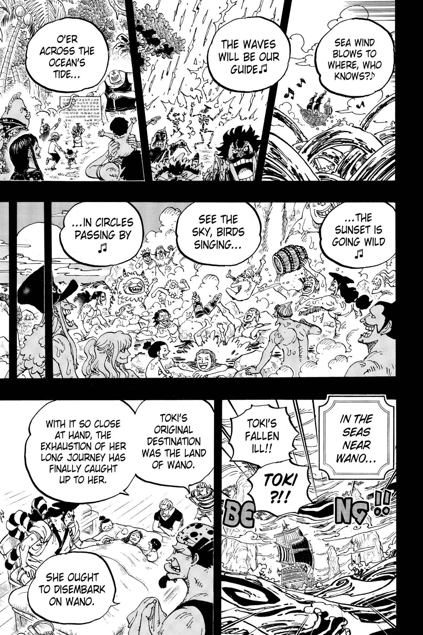 One Piece Chapter 967 Page 11