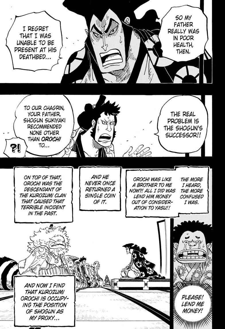 One Piece Chapter 968 Page 11