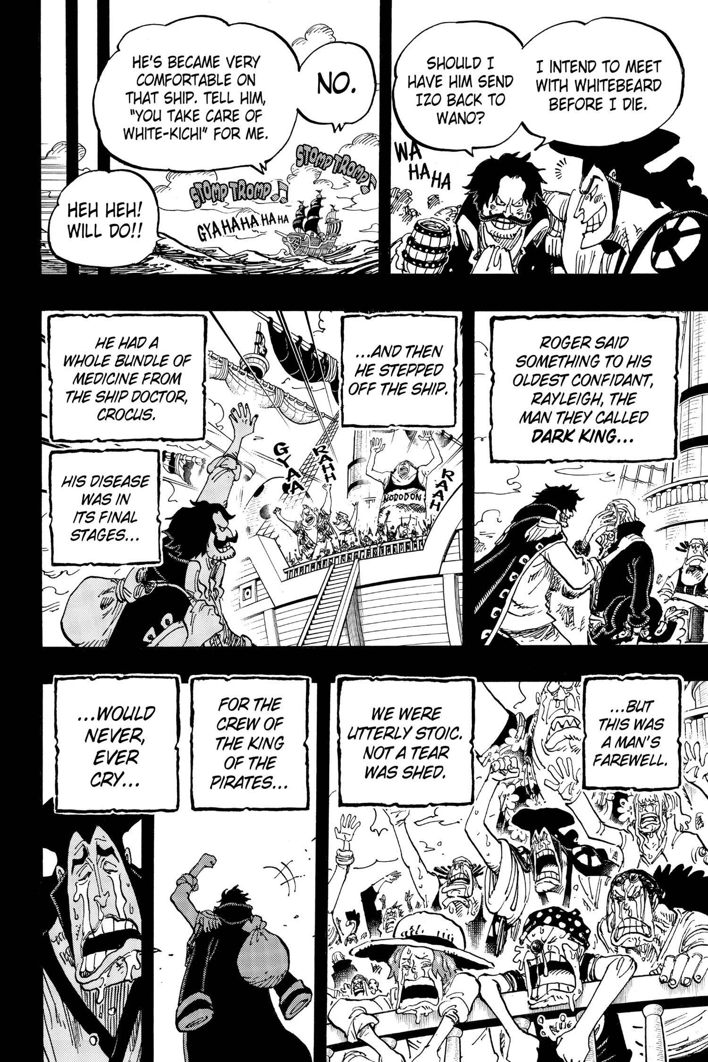One Piece Chapter 968 Page 6