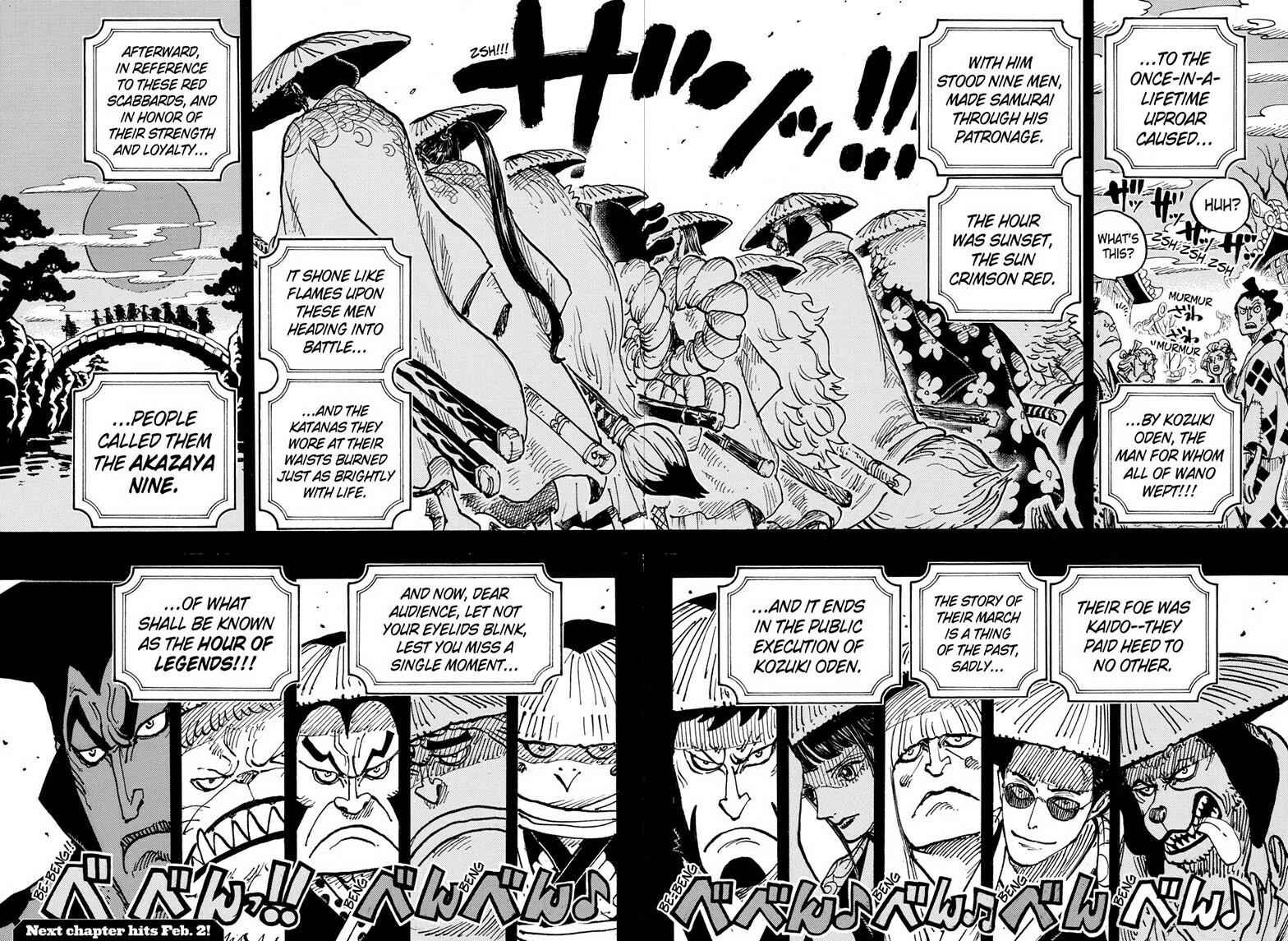One Piece Chapter 969 Page 15