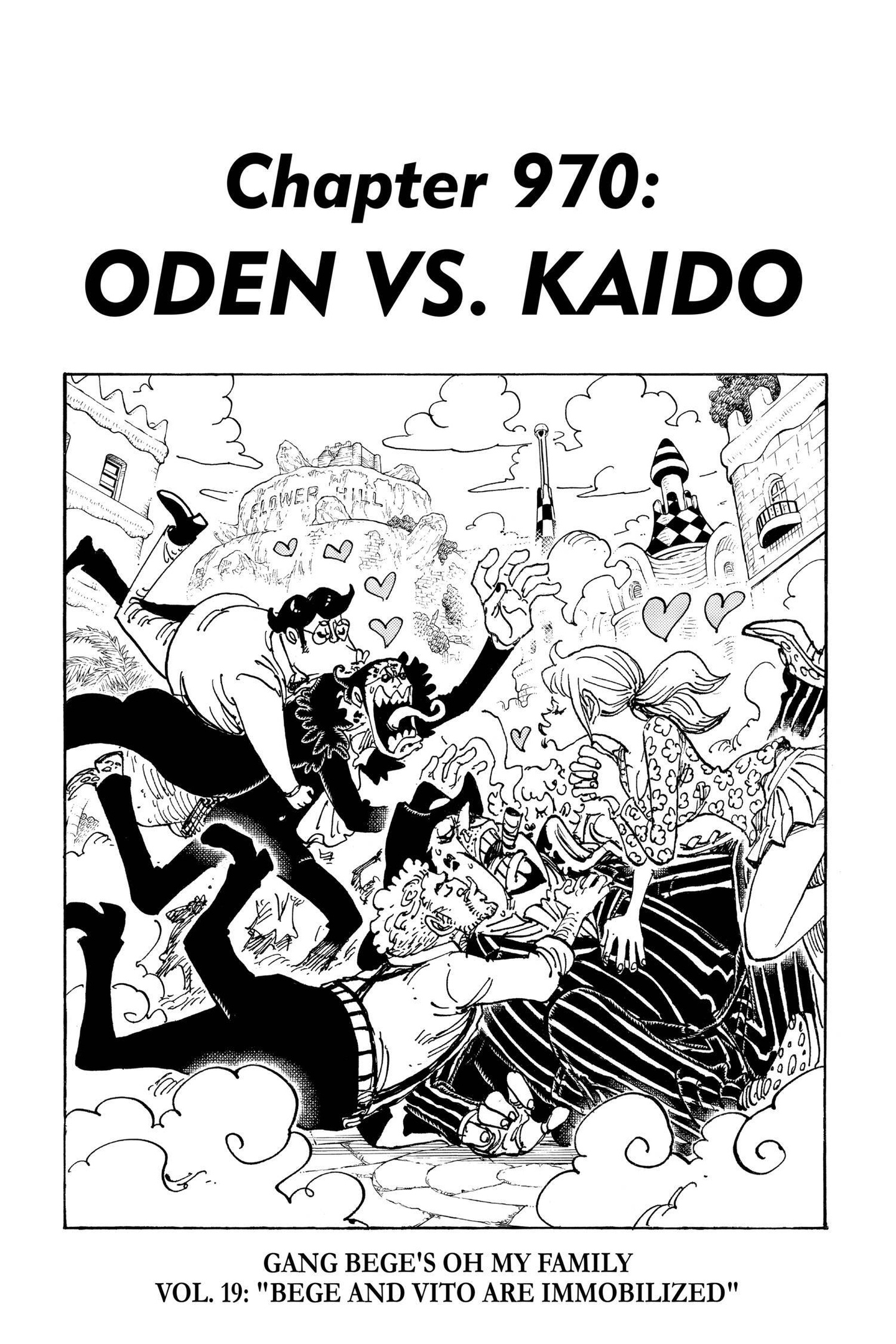 One Piece Chapter 970 Page 1