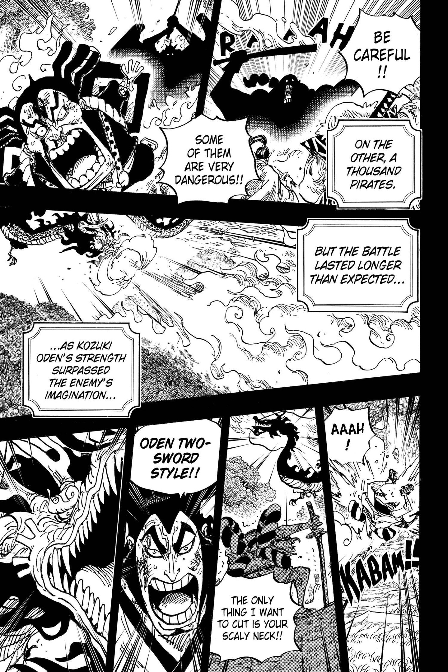 One Piece Chapter 970 Page 11