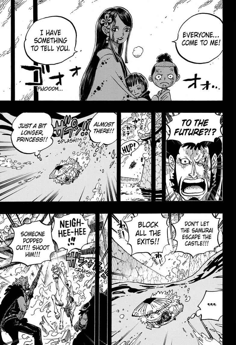 One Piece Chapter 973 Page 9