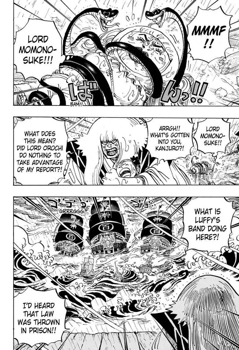 One Piece Chapter 975 Page 2