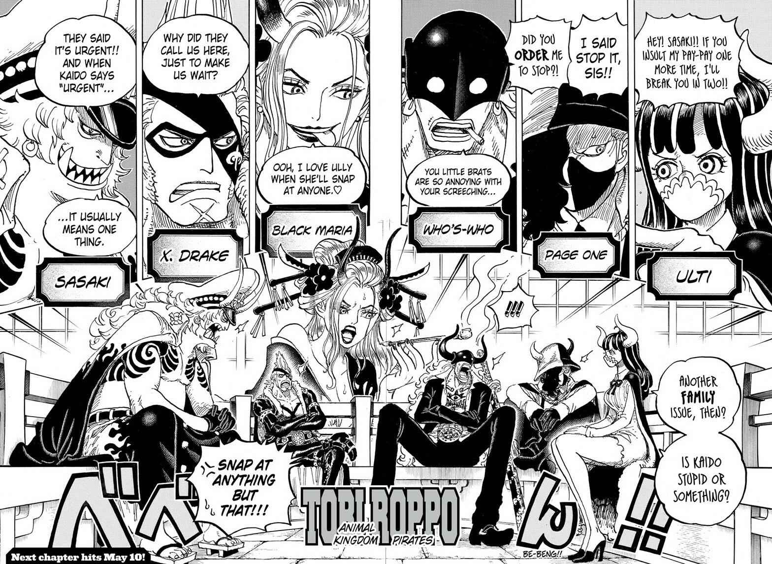 One Piece Chapter 978 Page 14
