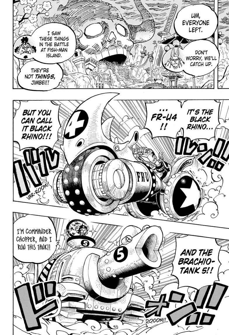 One Piece Chapter 979 Page 6