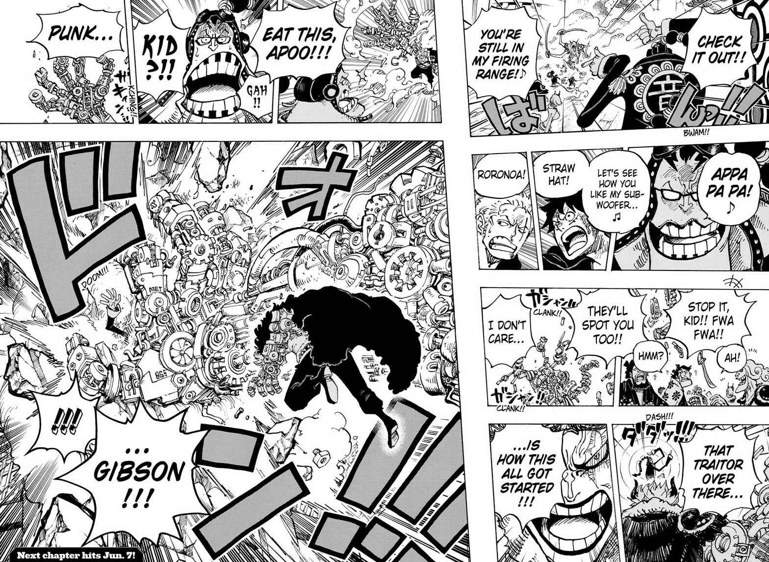 One Piece Chapter 980 Page 16