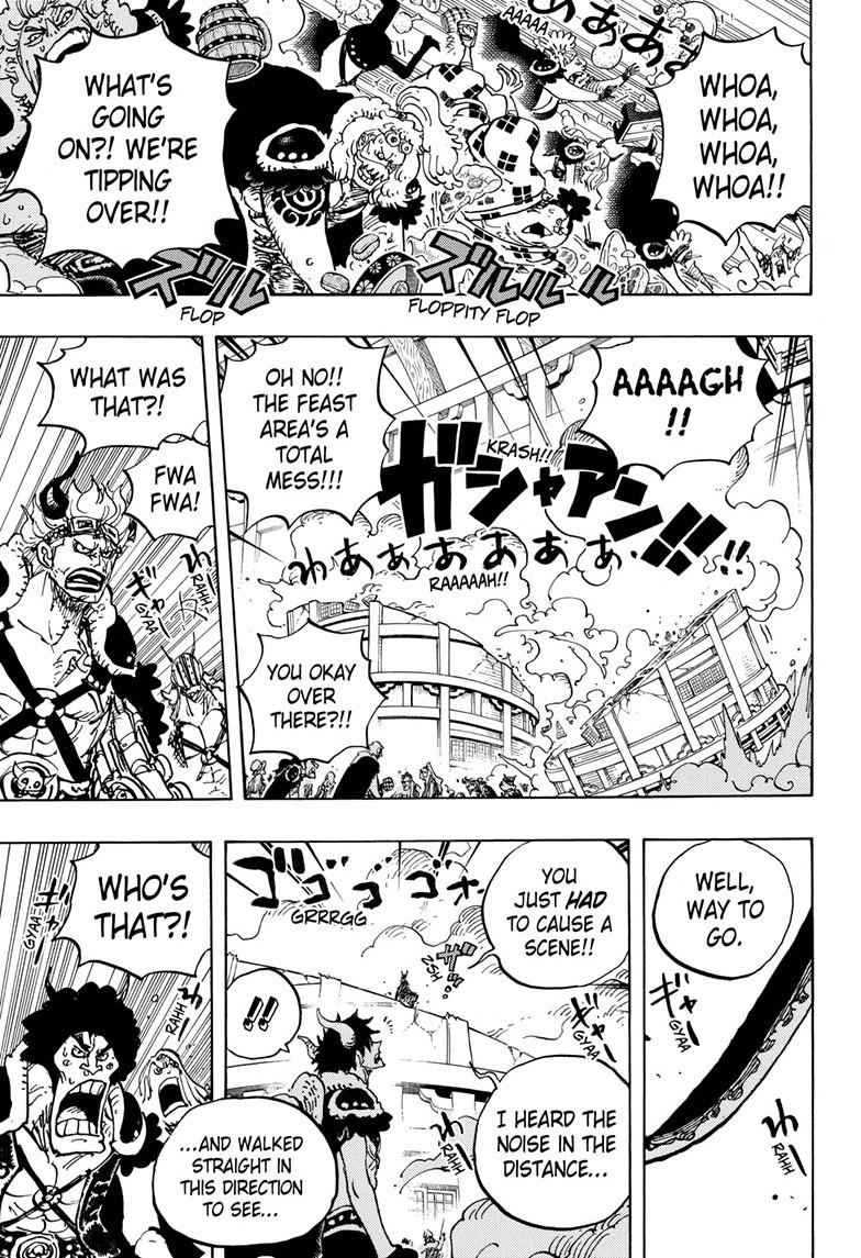 One Piece Chapter 980 Page 5
