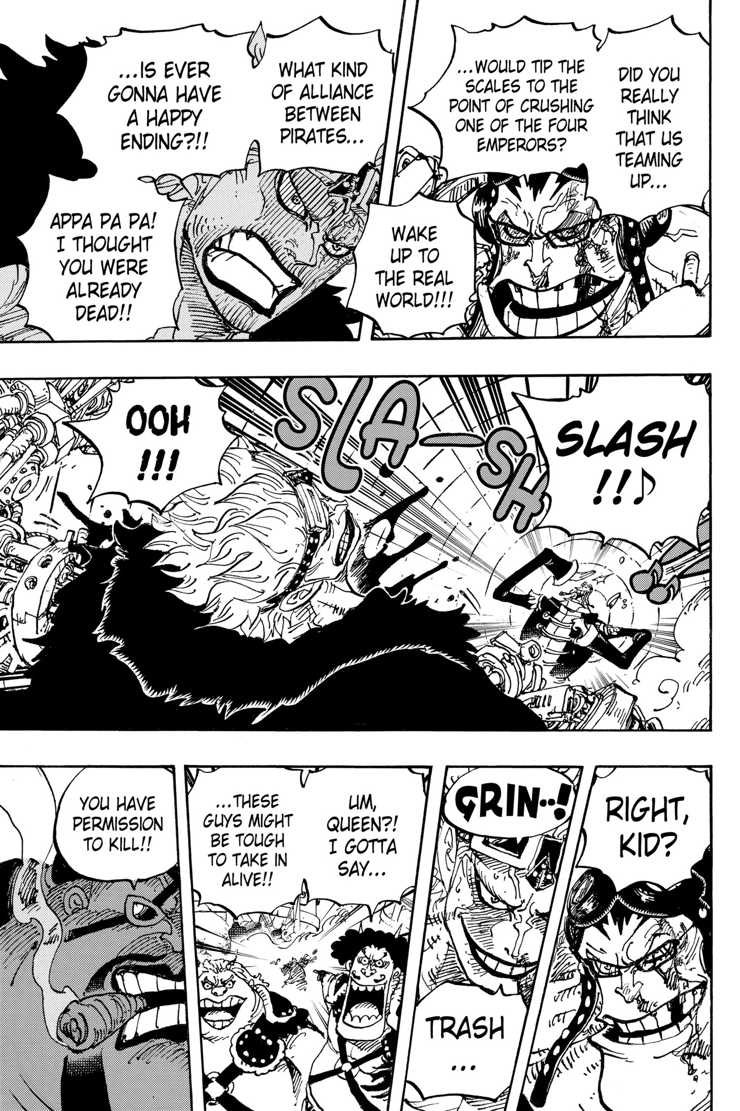 One Piece Chapter 981 Page 5