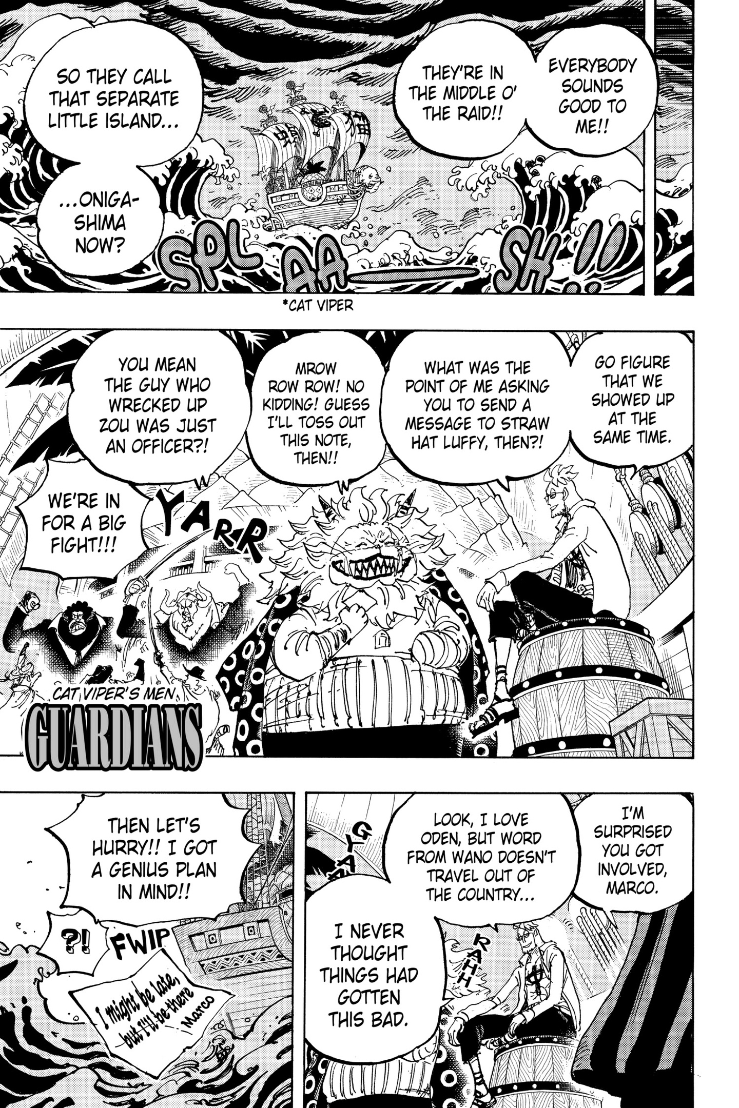 One Piece Chapter 982 Page 11