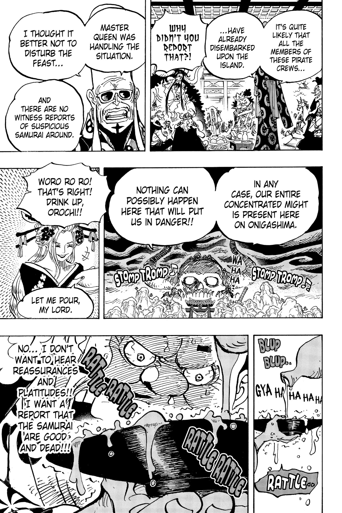 One Piece Chapter 982 Page 7