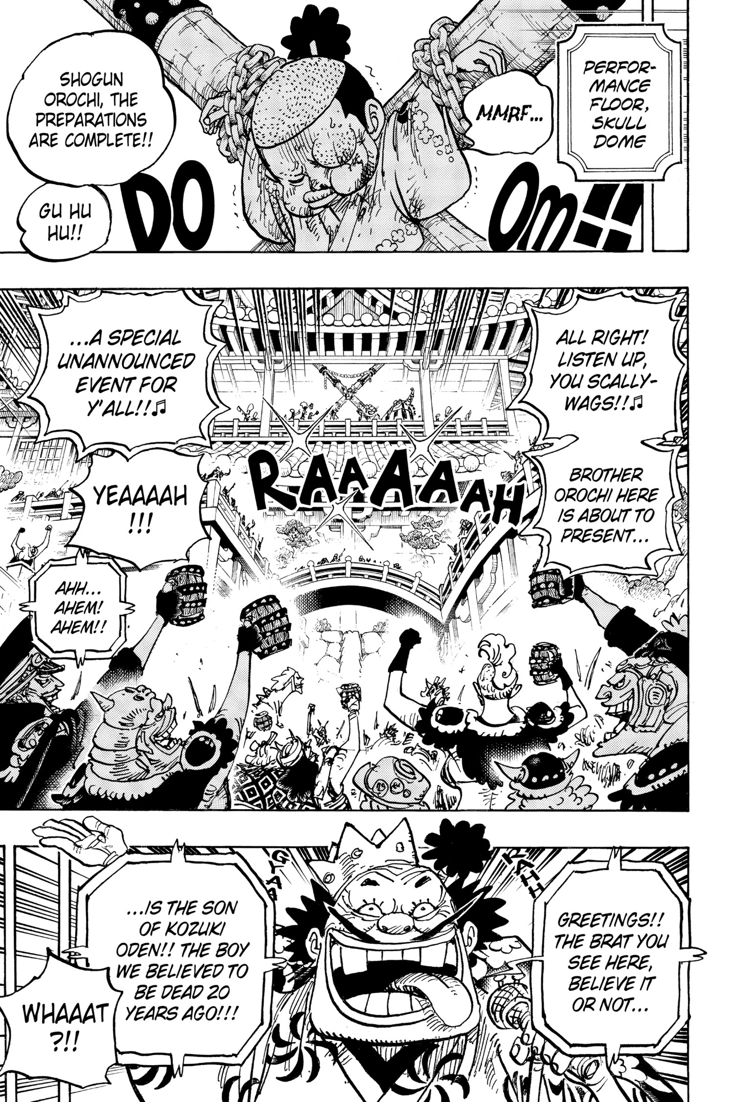 One Piece Chapter 983 Page 5