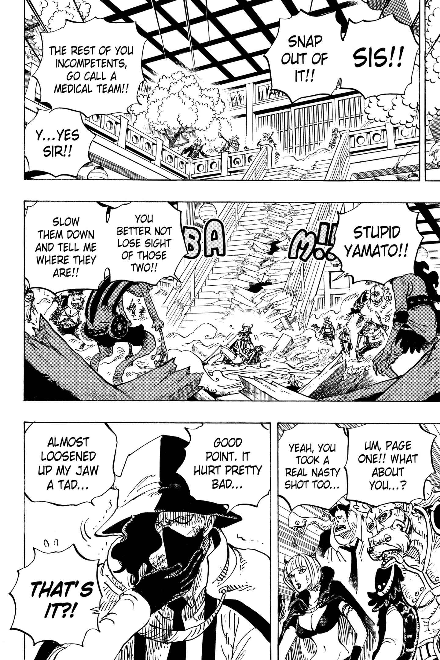One Piece Chapter 984 Page 2