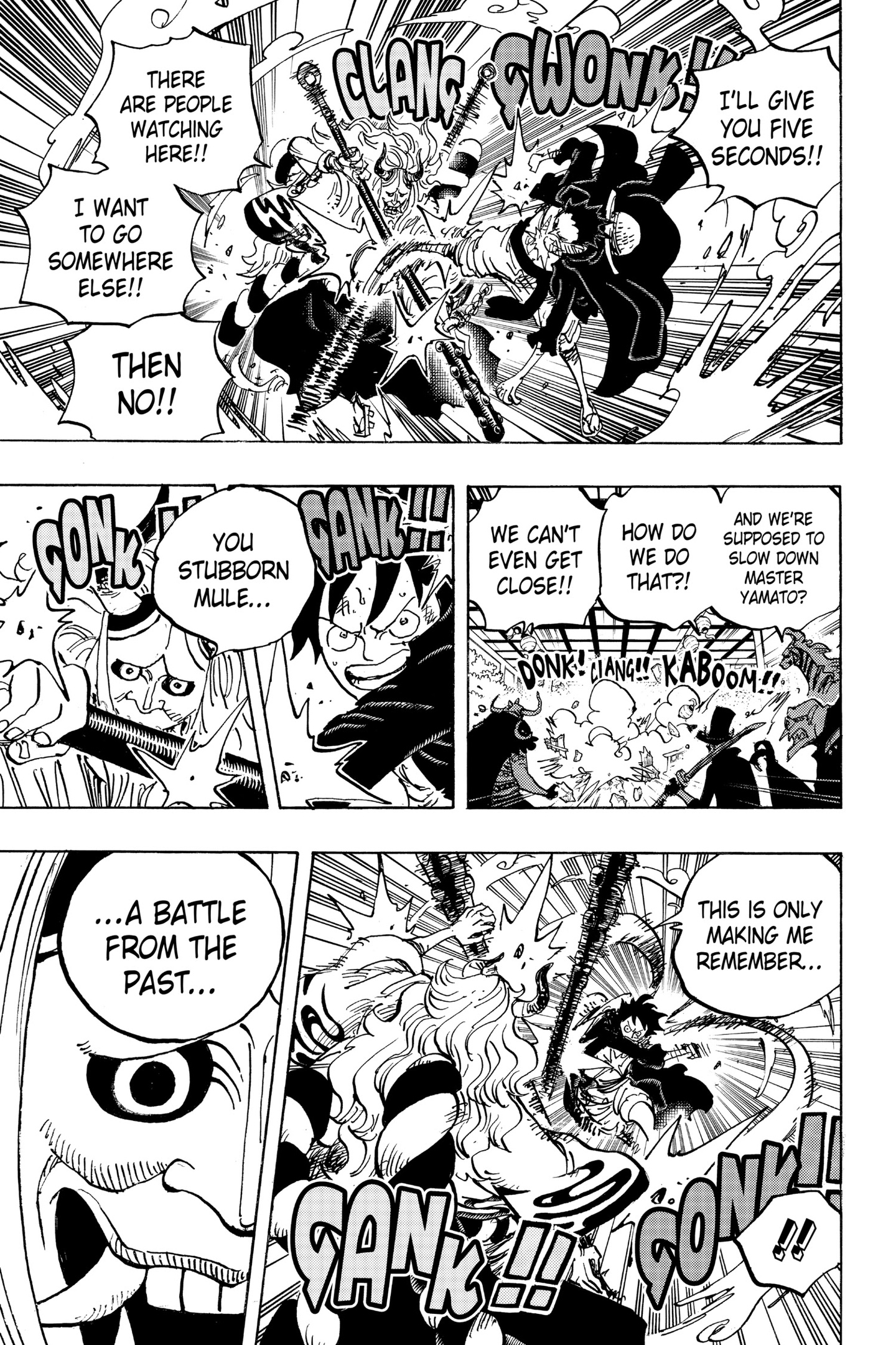 One Piece Chapter 984 Page 5