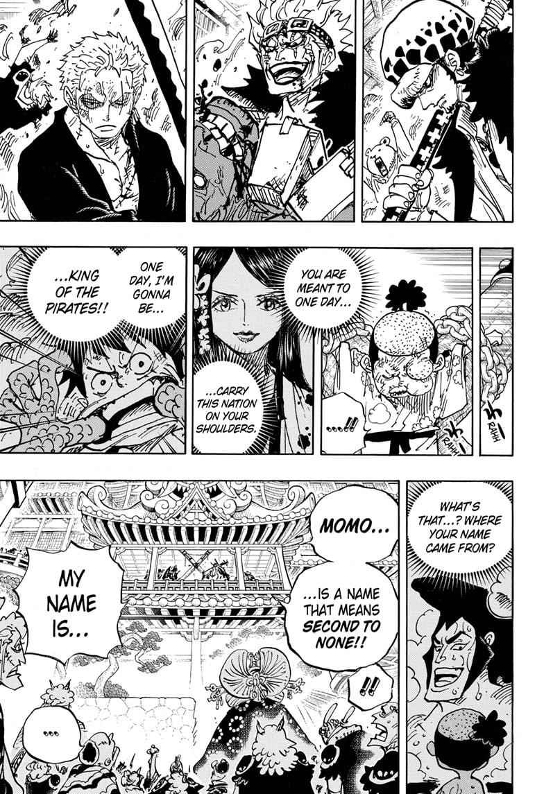 One Piece Chapter 986 Page 10