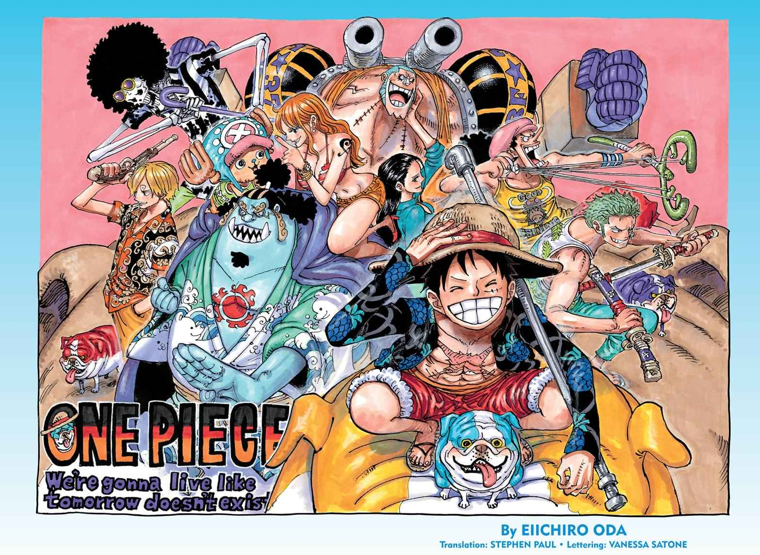 One Piece Chapter 987 Page 1