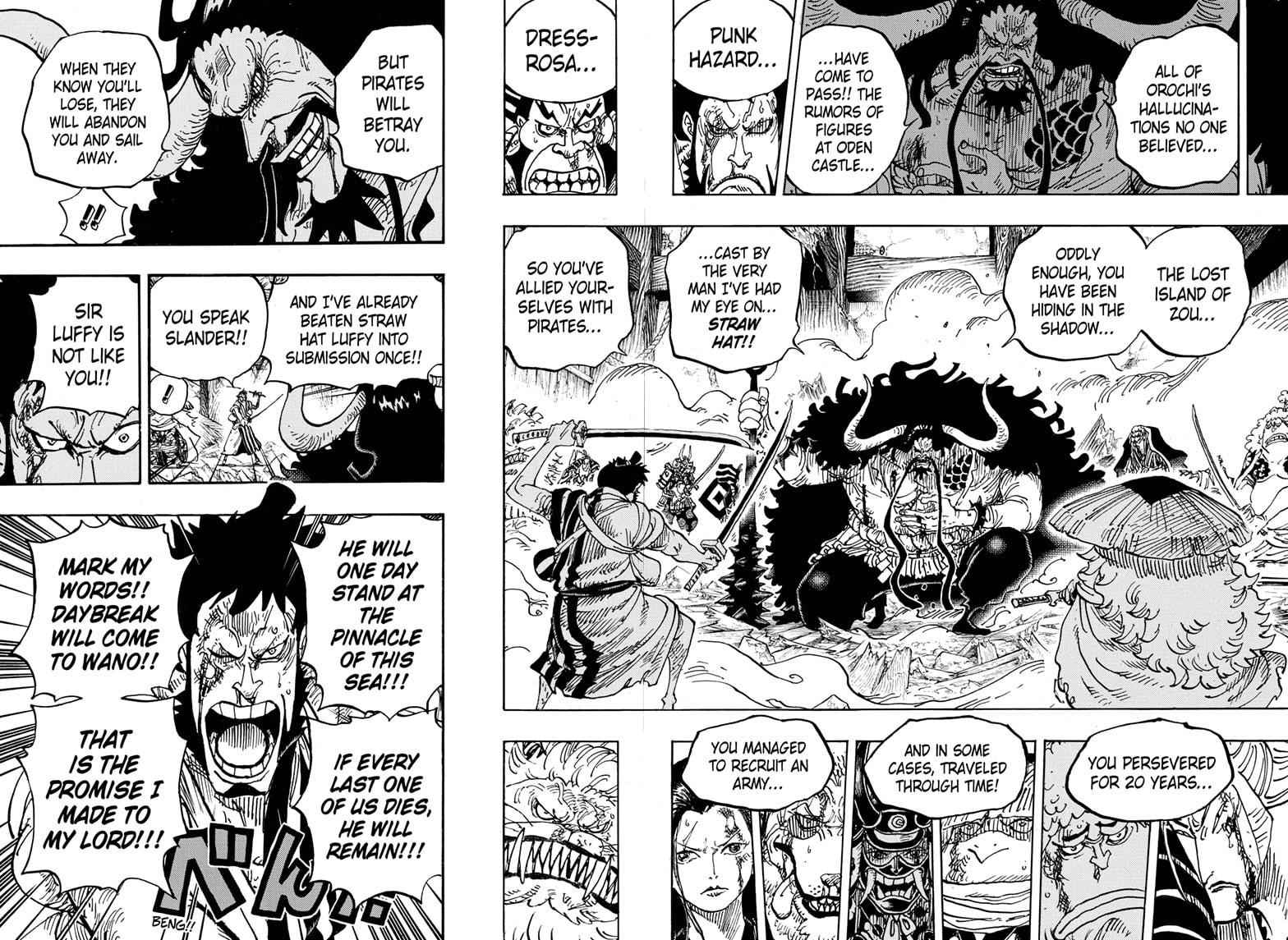 One Piece Chapter 987 Page 10