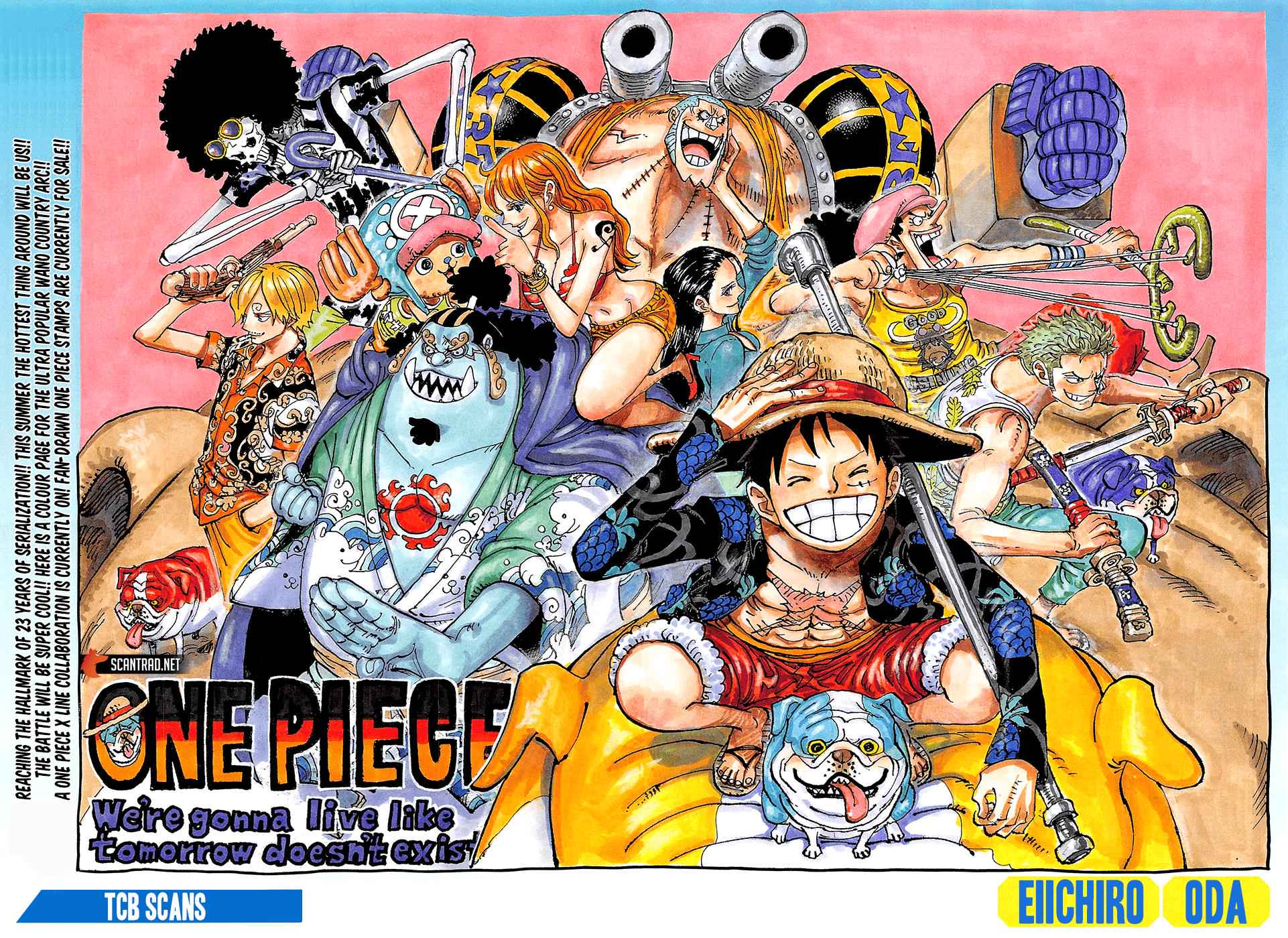 One Piece Chapter 987 Page 2