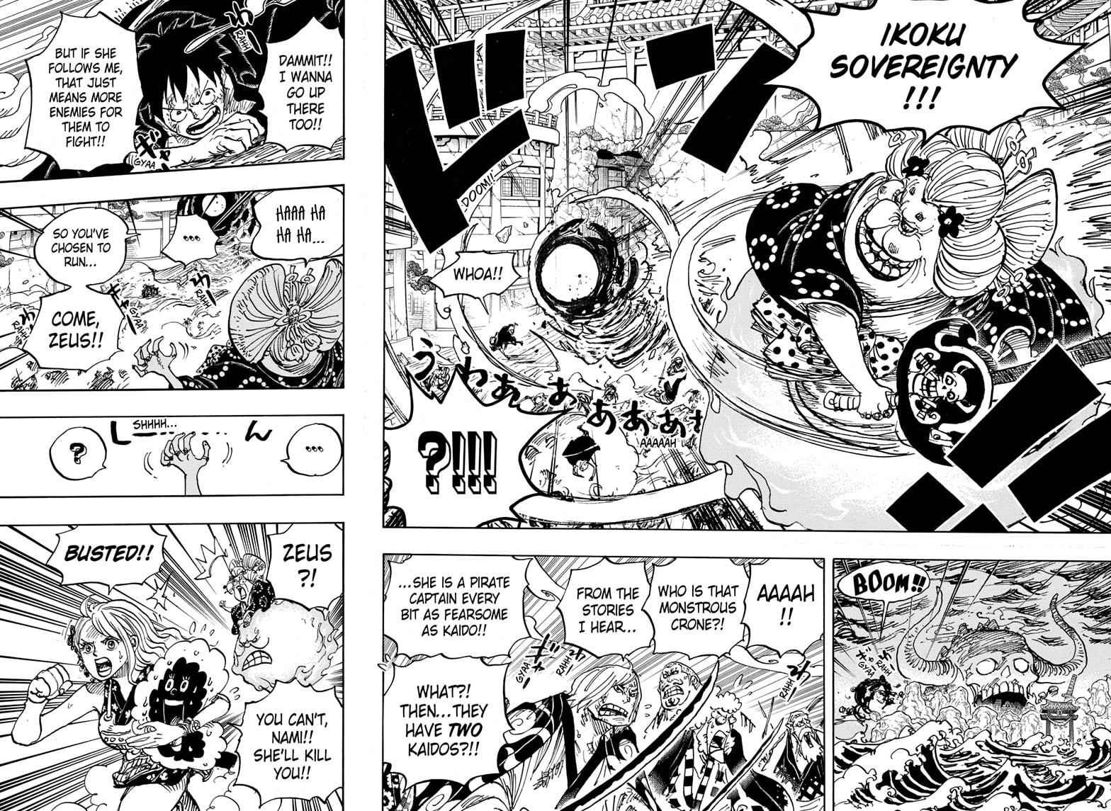 One Piece Chapter 988 Page 11