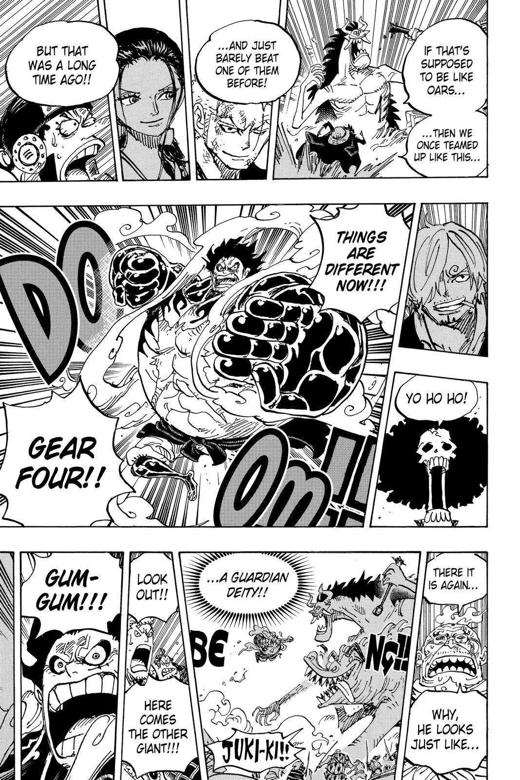 One Piece Chapter 990 Page 13