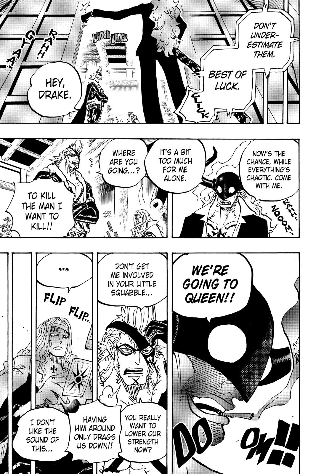 One Piece Chapter 990 Page 9