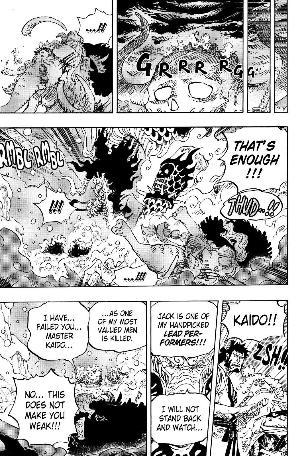 One Piece Chapter 991 Page 13