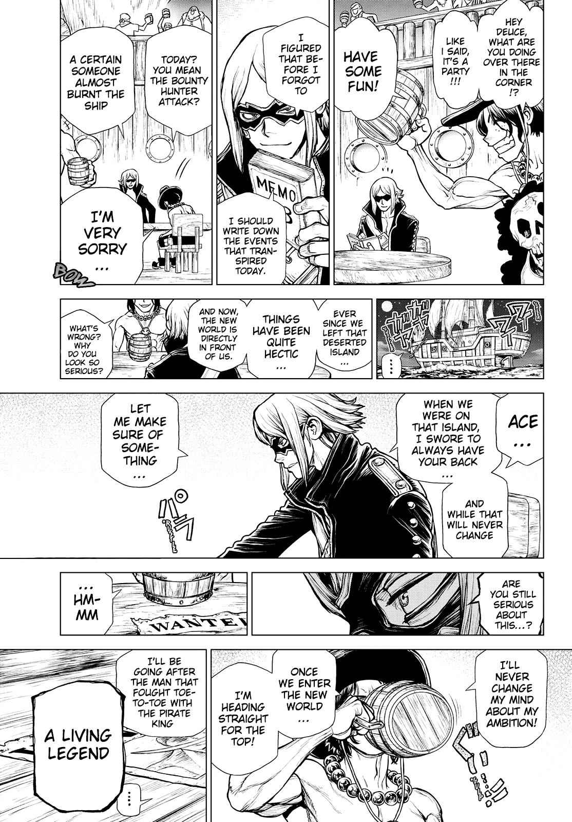 One Piece Chapter 991.5 Page 44