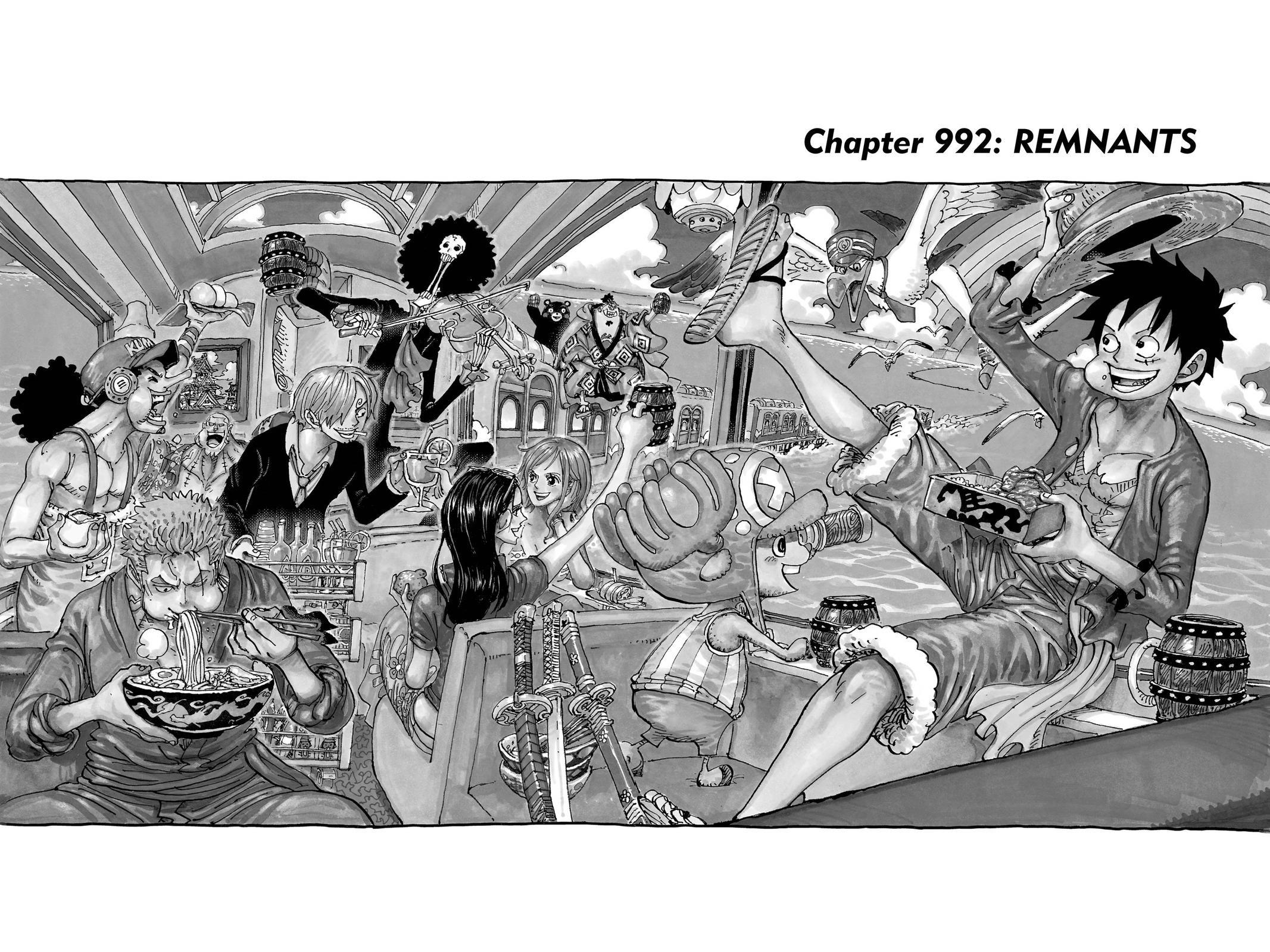 One Piece Chapter 992 Page 1