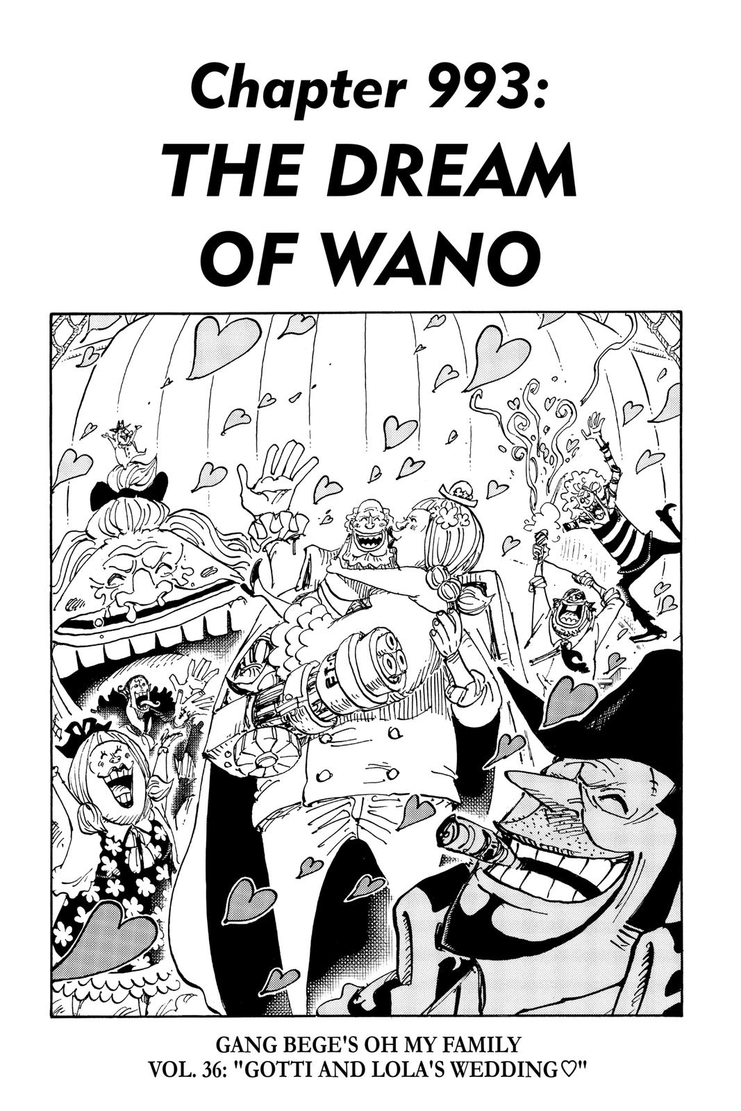 One Piece Chapter 993 Page 1