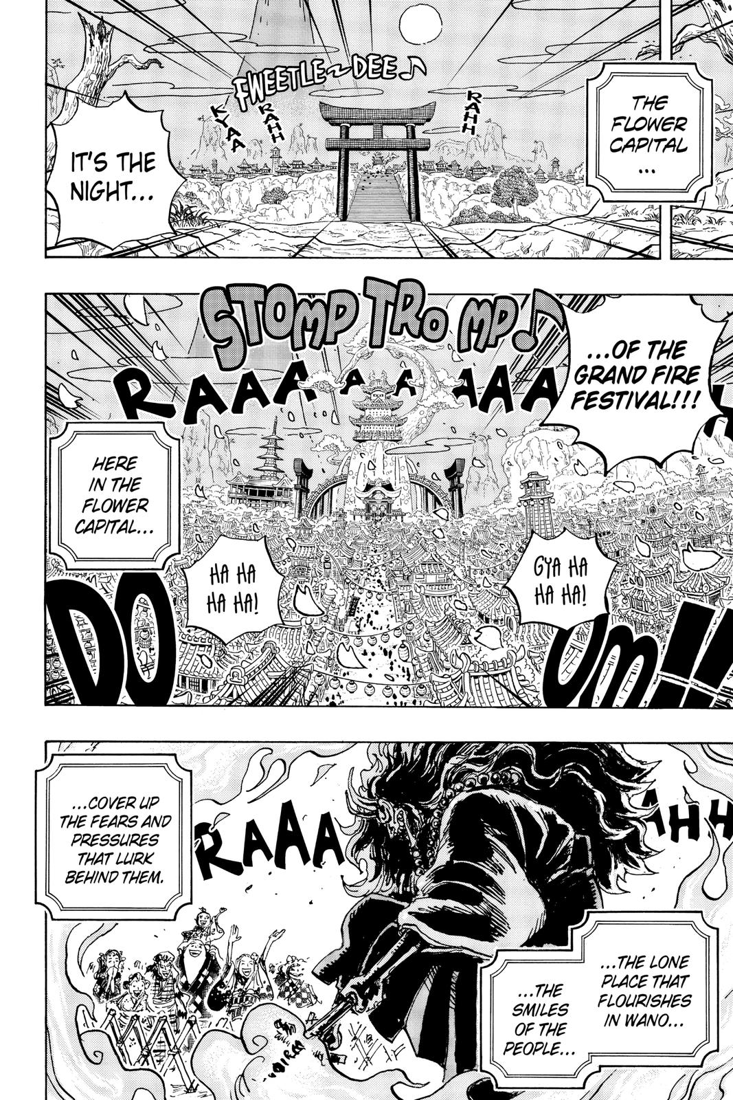 One Piece Chapter 993 Page 2