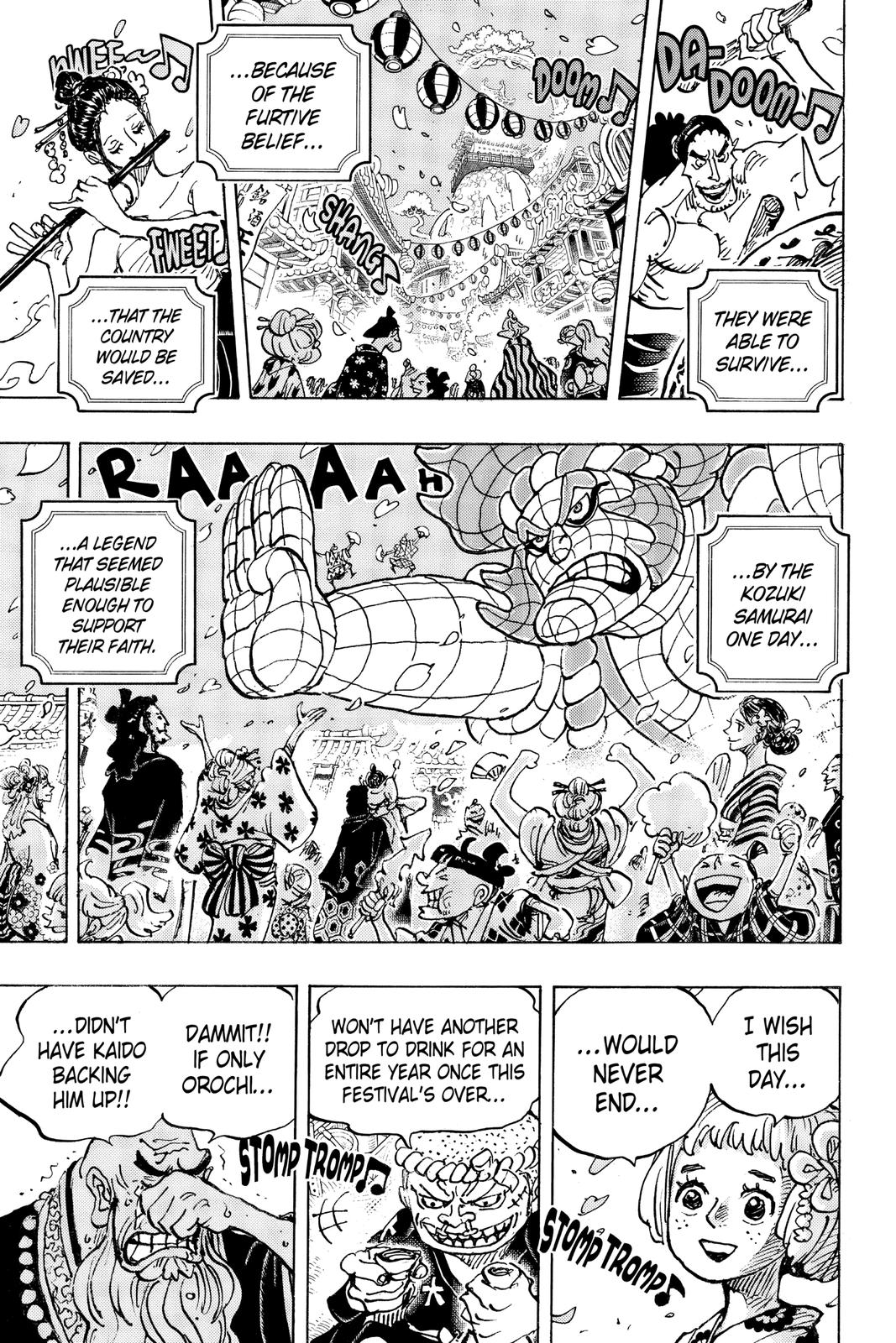 One Piece Chapter 993 Page 3