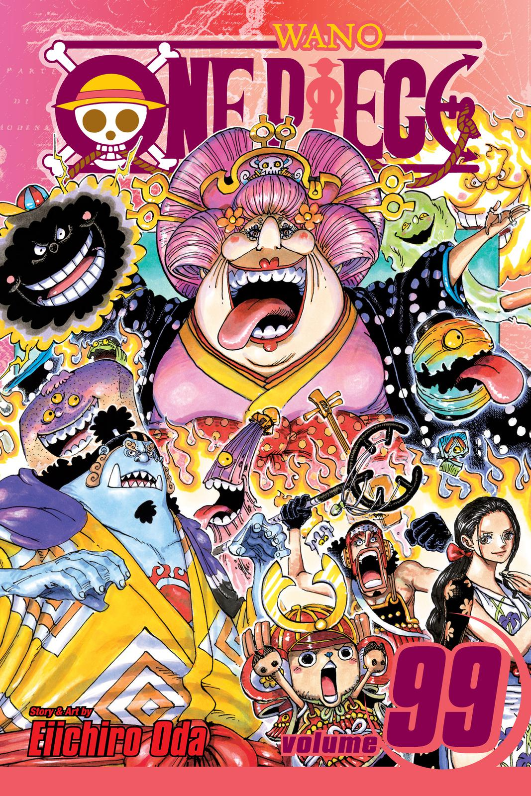 One Piece Chapter 995 Page 1