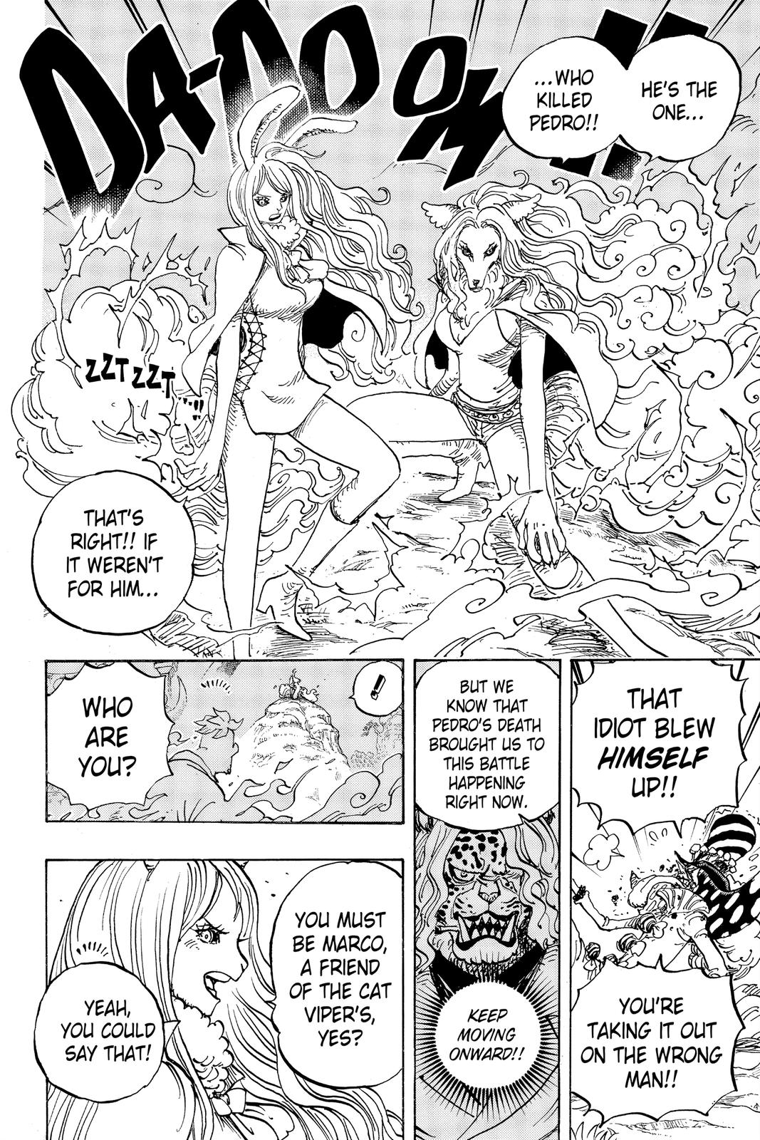 One Piece Chapter 995 Page 11