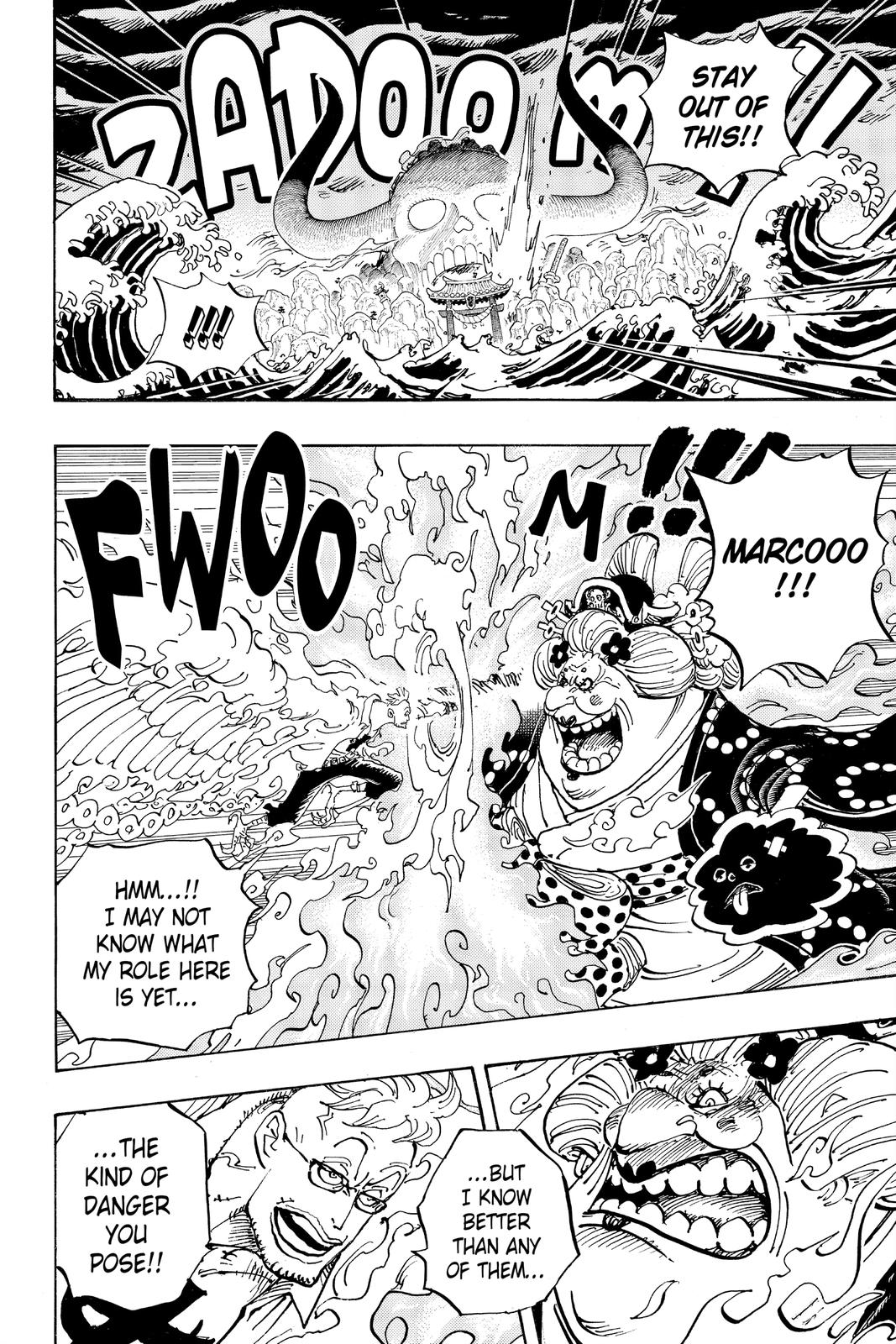 One Piece Chapter 995 Page 8
