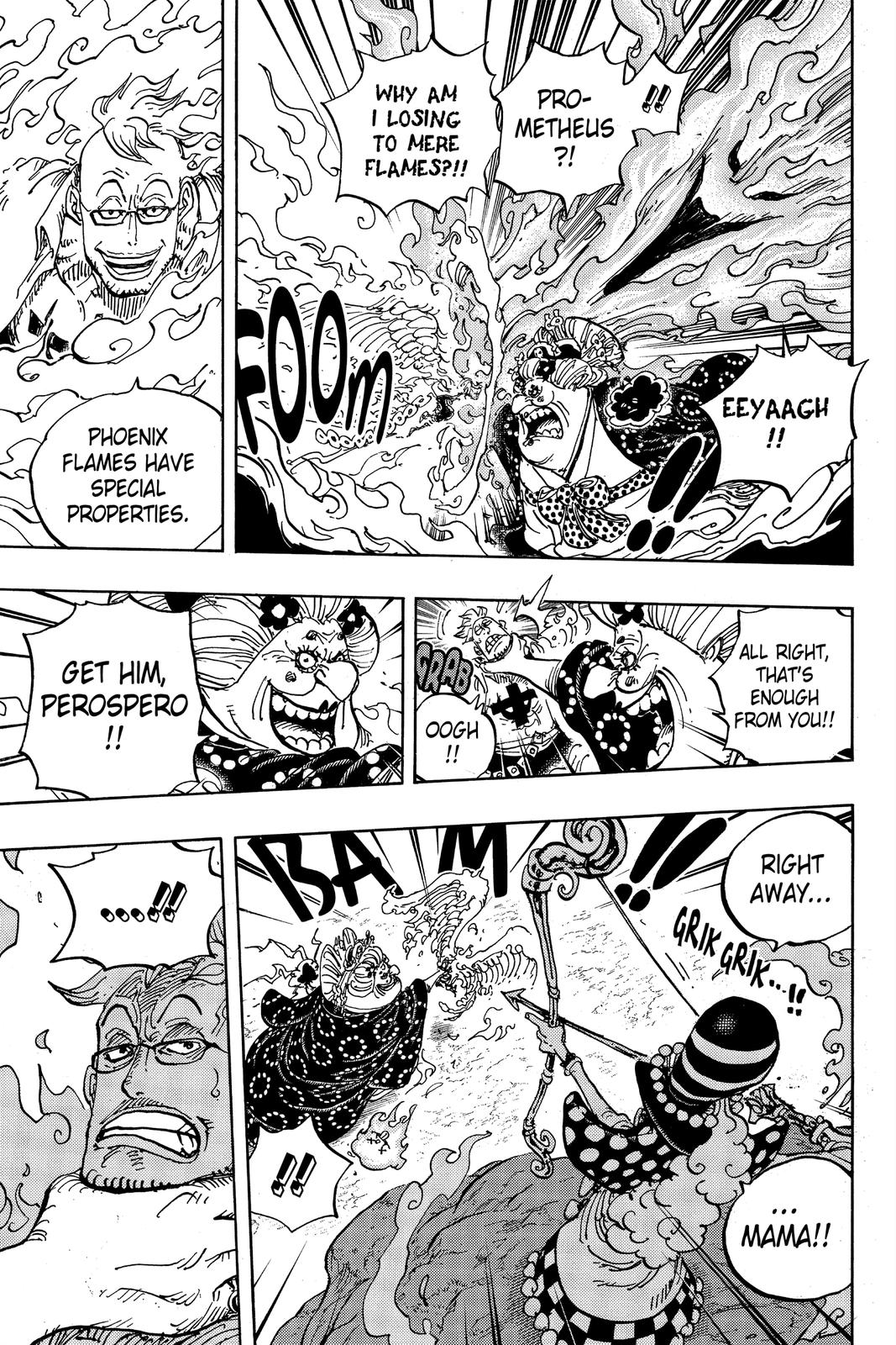 One Piece Chapter 995 Page 9