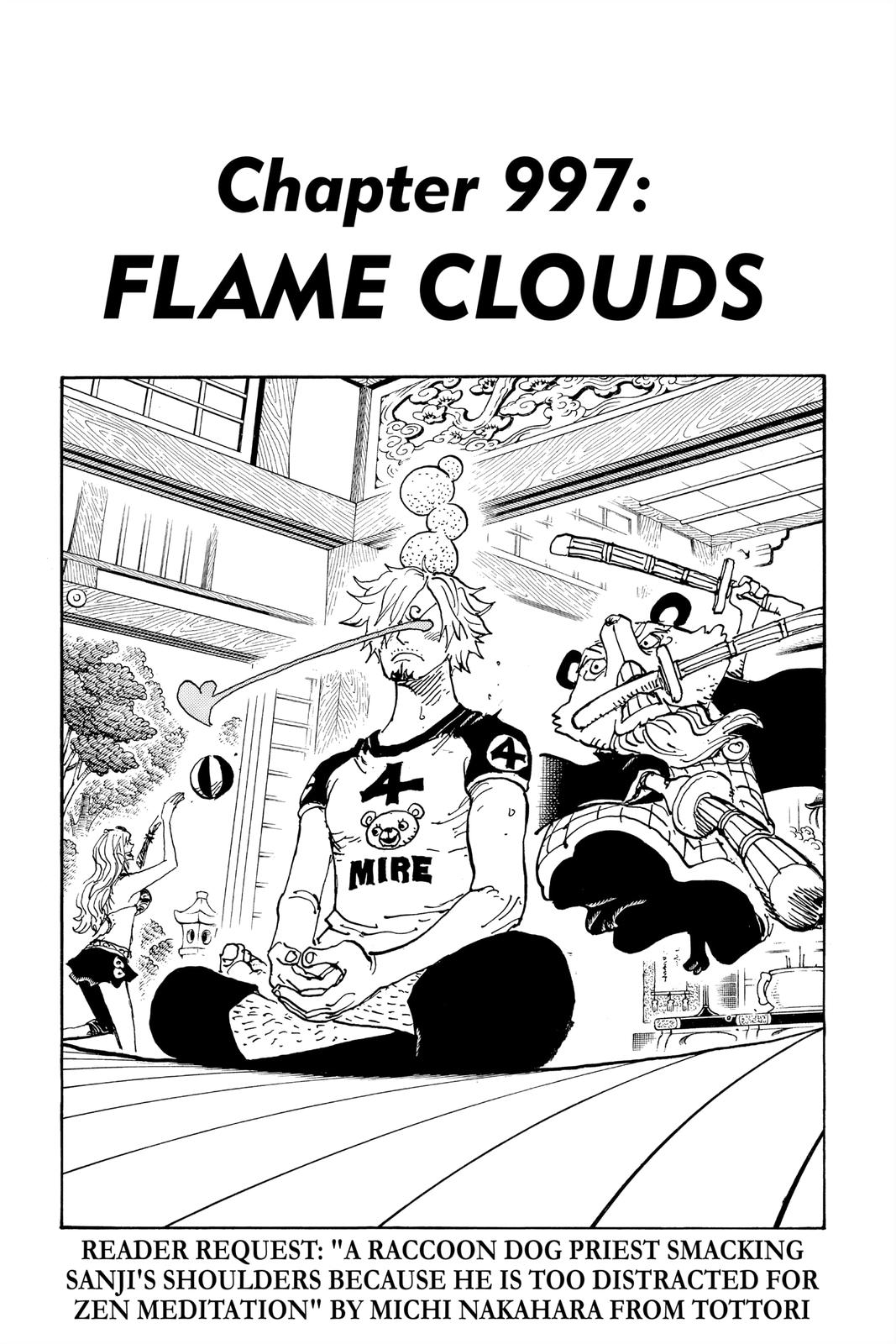 One Piece Chapter 997 Page 1