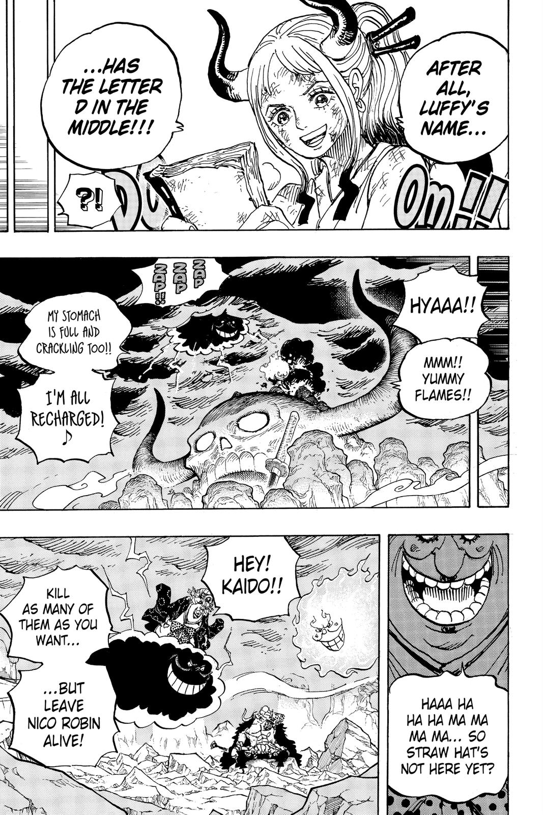 One Piece Chapter 999 Page 14