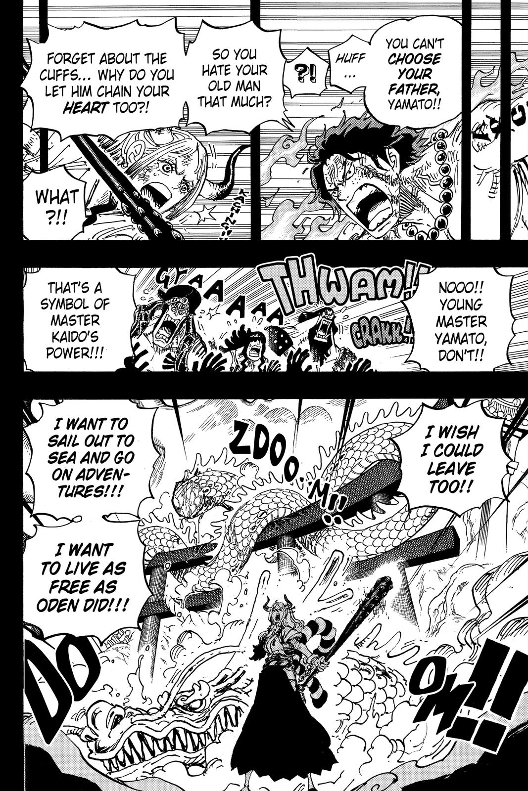 One Piece Chapter 999 Page 4