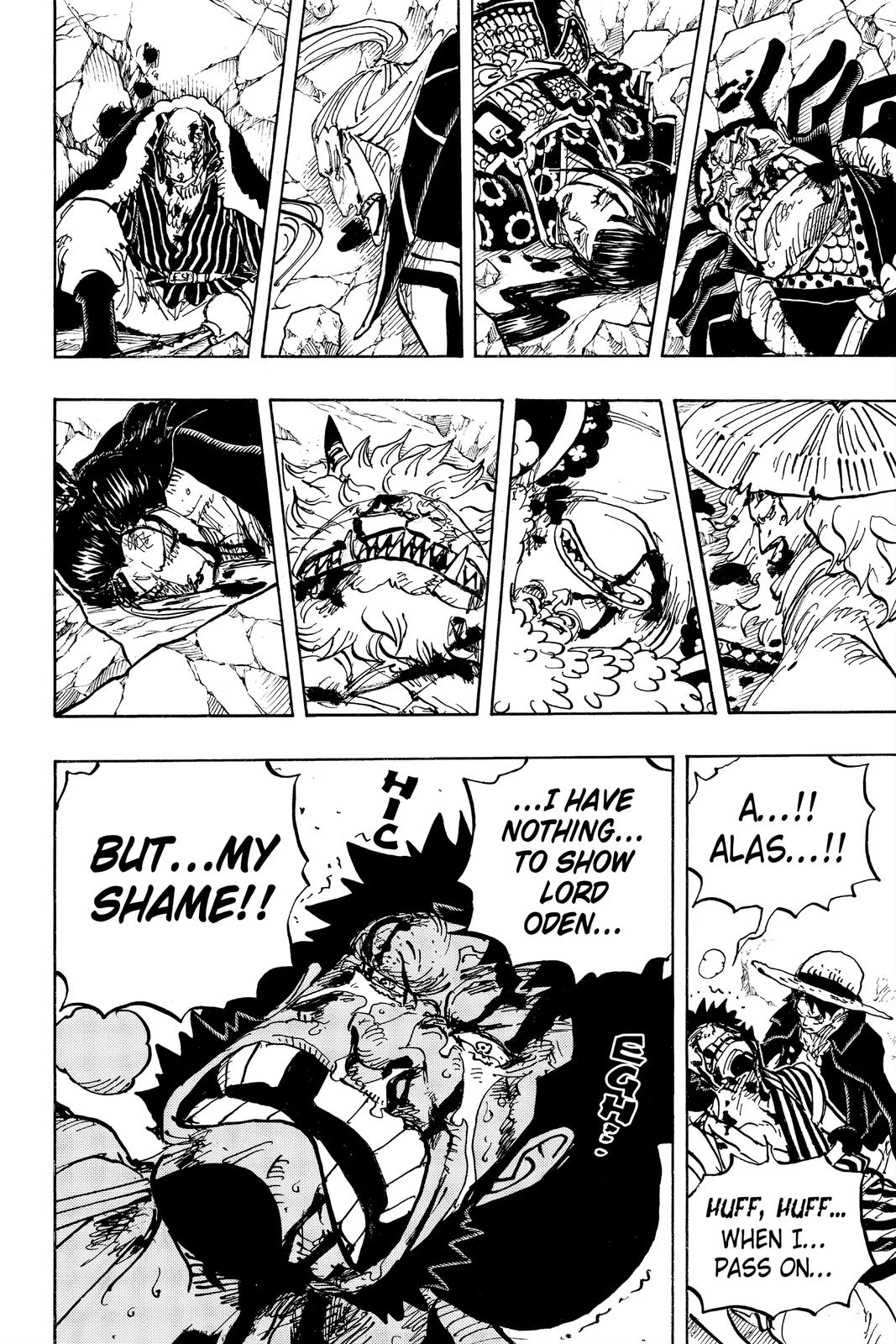 One Piece Chapter 1000 Page 13