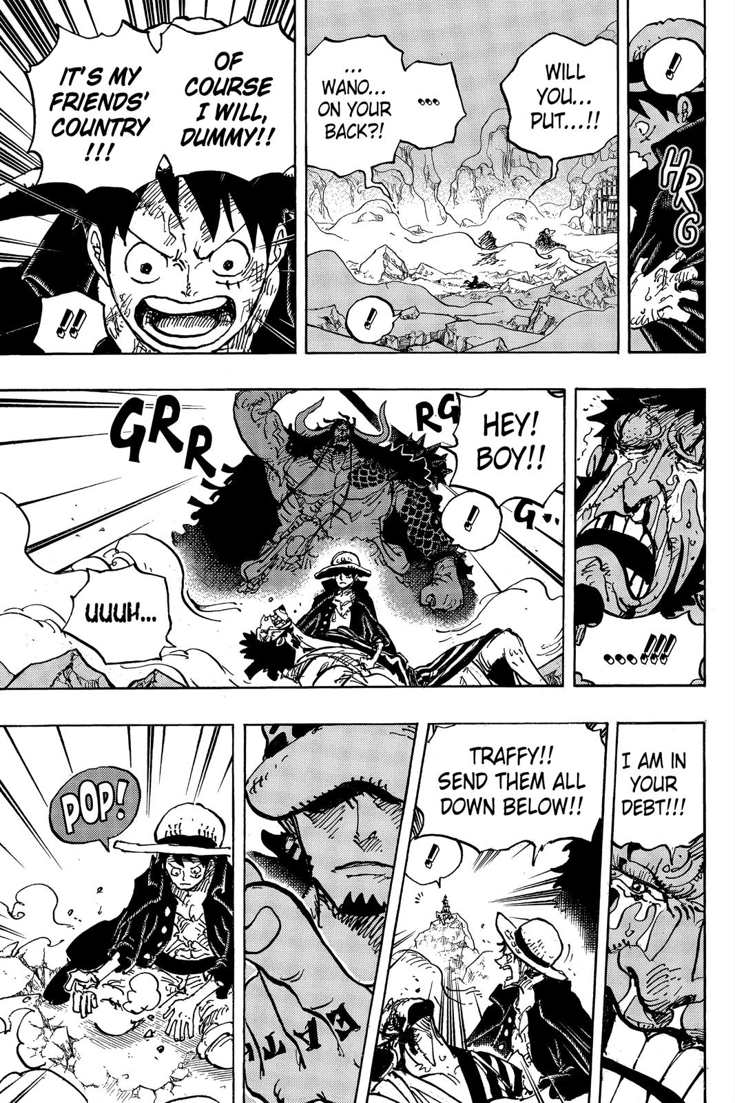 One Piece Chapter 1000 Page 14
