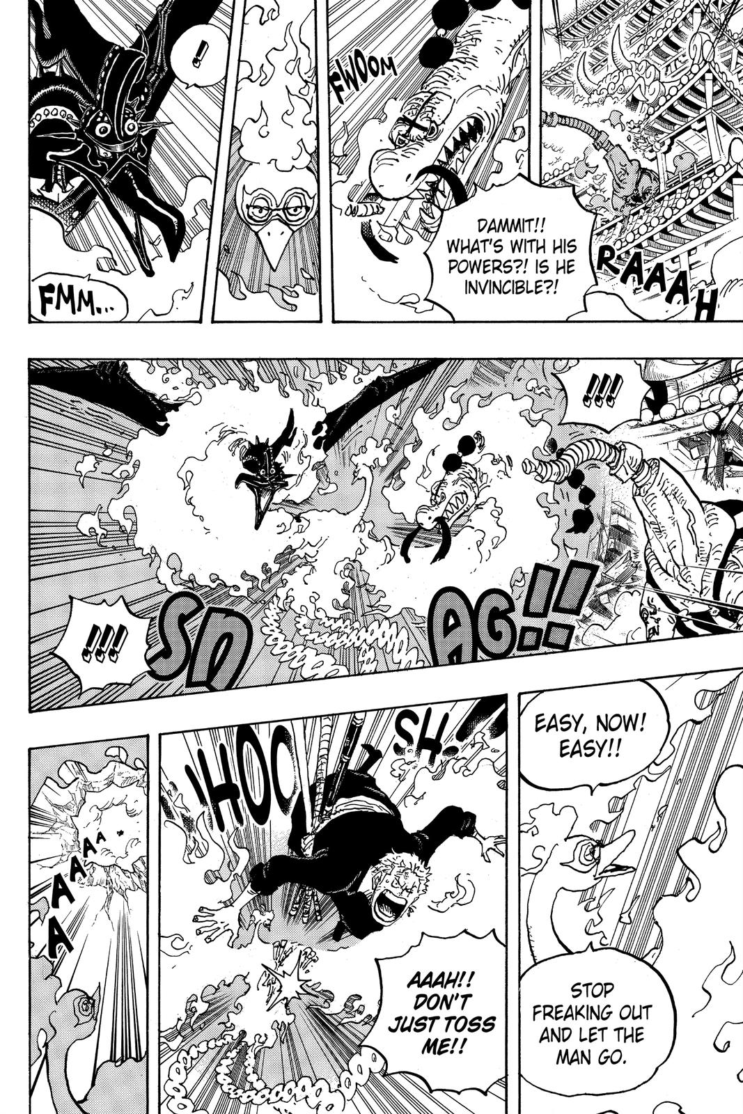 One Piece Chapter 1000 Page 4